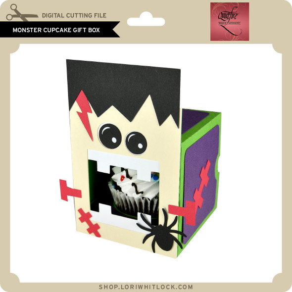 Monster Cupcake Gift Box
