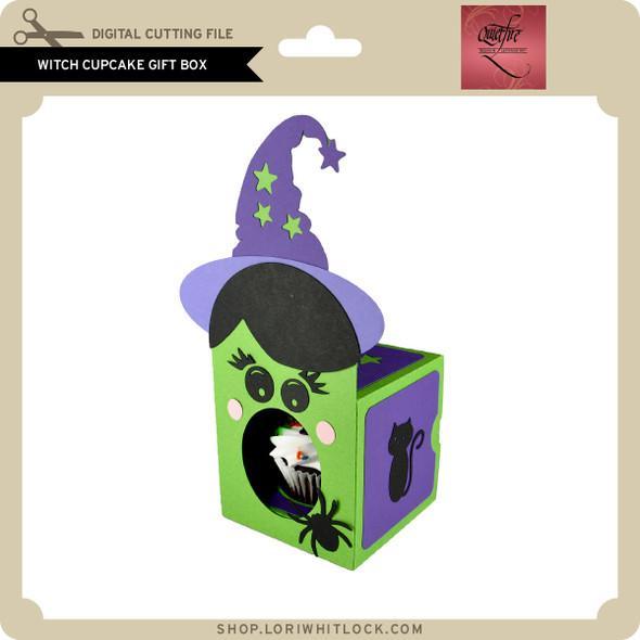 Witch Cupcake Gift Box