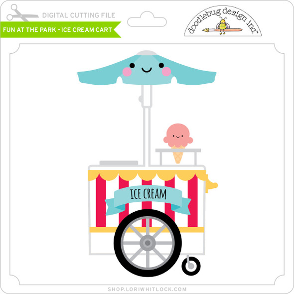 Fun at the Park - Ice Cream Cart