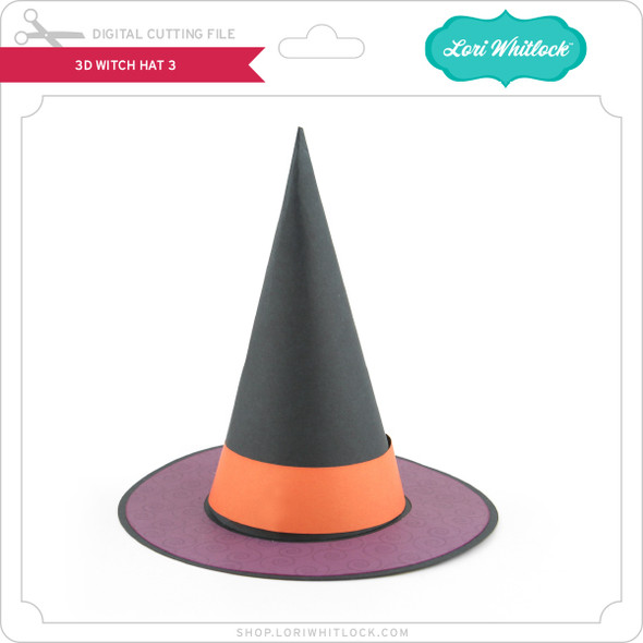 3D Witch Hat 3