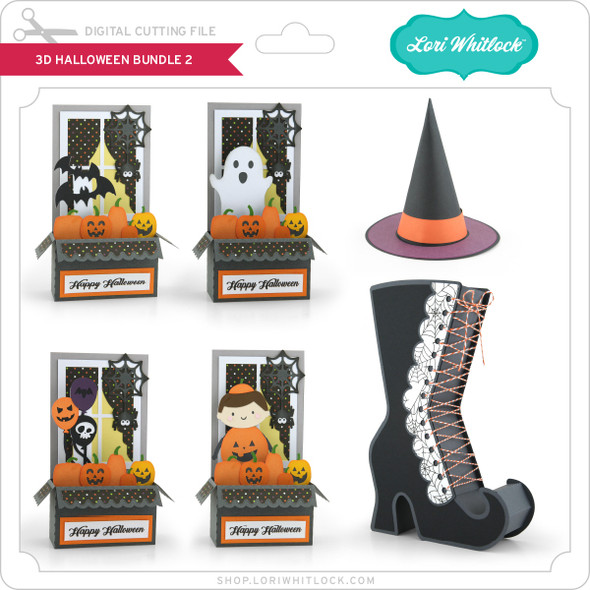 3D Halloween Bundle 2