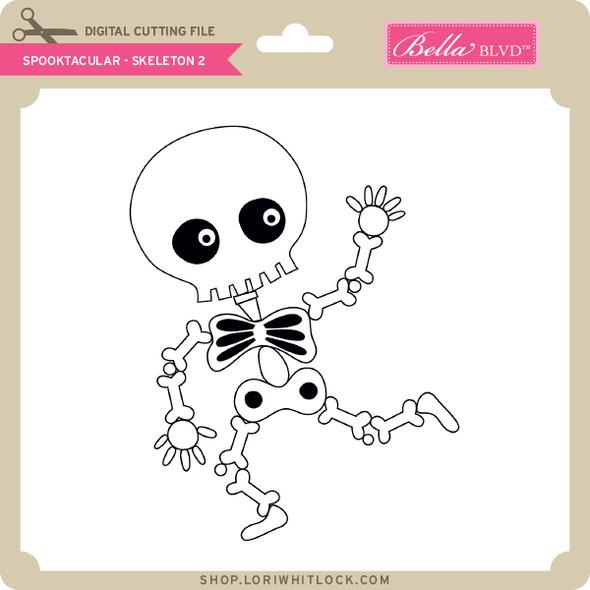 Spooktacular - Skeleton 2