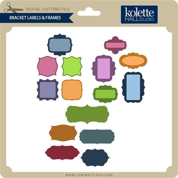 Bracket Label & Frames