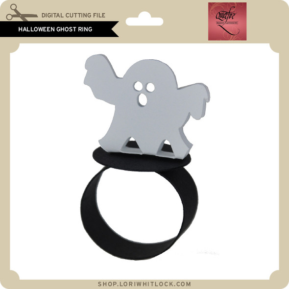 Halloween Ghost Ring