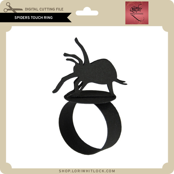 Spiders Touch Ring