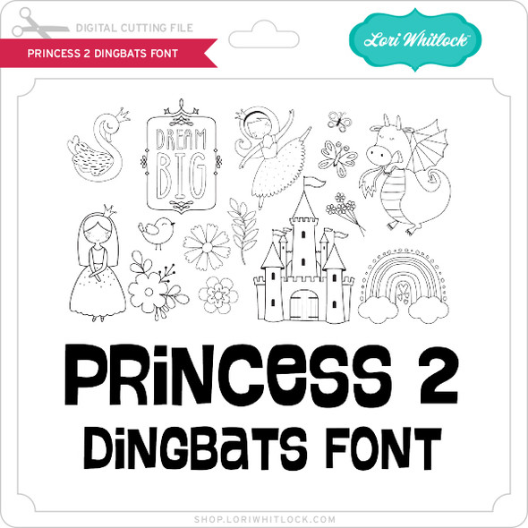 Princess 2 Dingbats Font