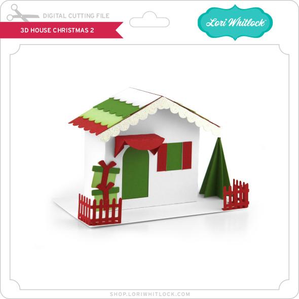 3D House Christmas 2