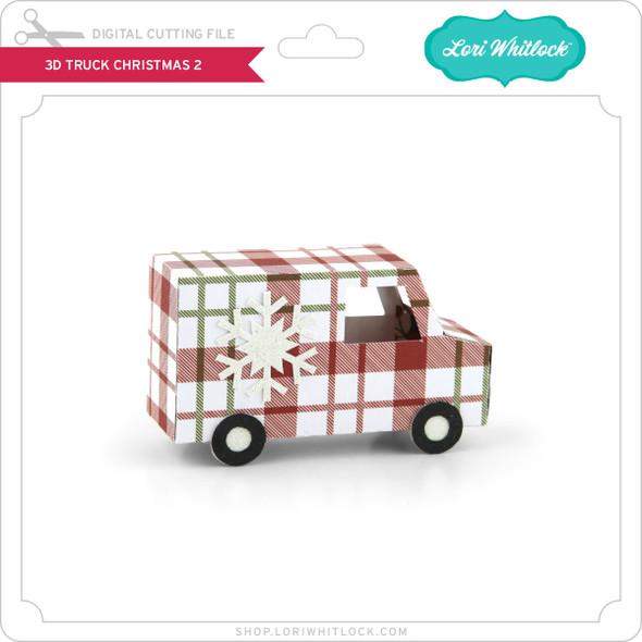 3D Truck Christmas 2
