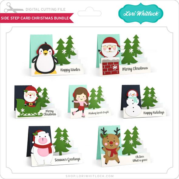 Side Step Card Christmas Bundle