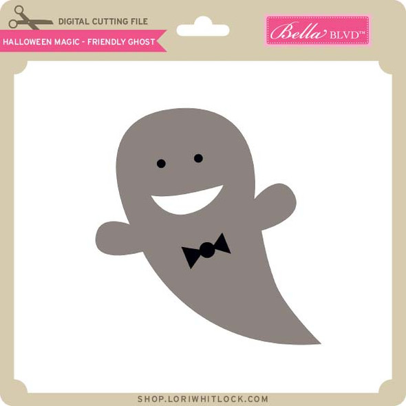 Halloween Magic   Friendly Ghost