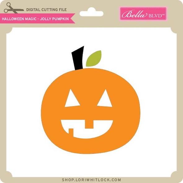 Halloween Magic Jolly Pumpkin