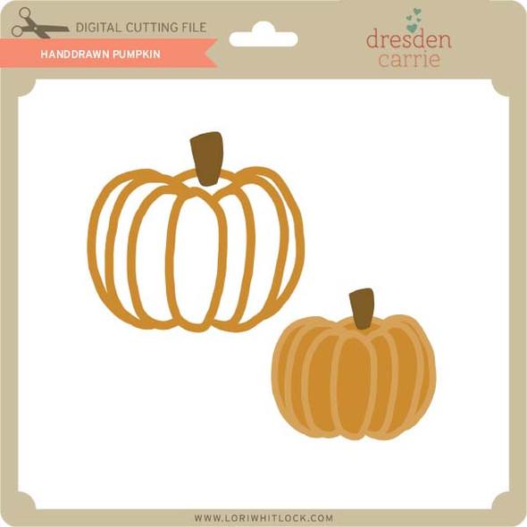 Handdrawn Pumpkins