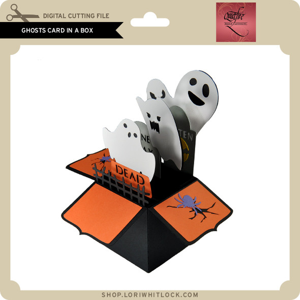 Ghosts Card in a Box