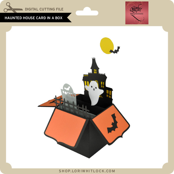 Haunted House Card in a Box