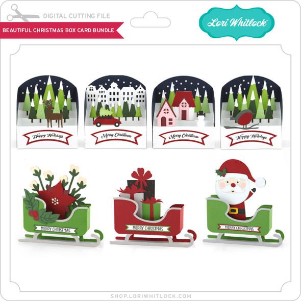 Beautiful Christmas Box Card Bundle
