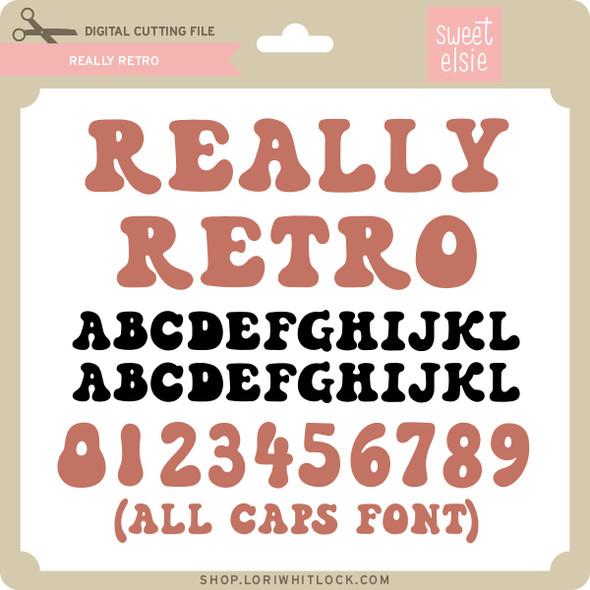 Really Retro Font