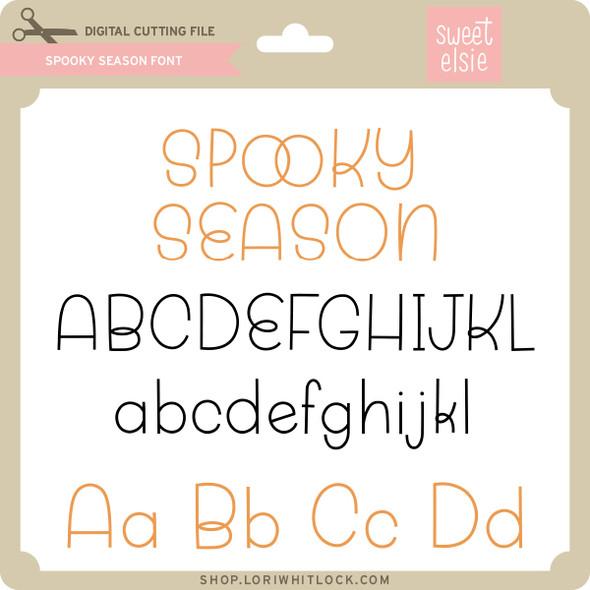 Spooky Season Font