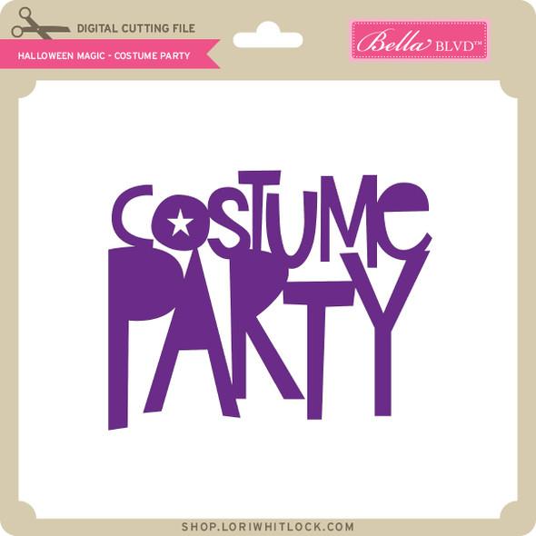 Halloween Magic - Costume Party