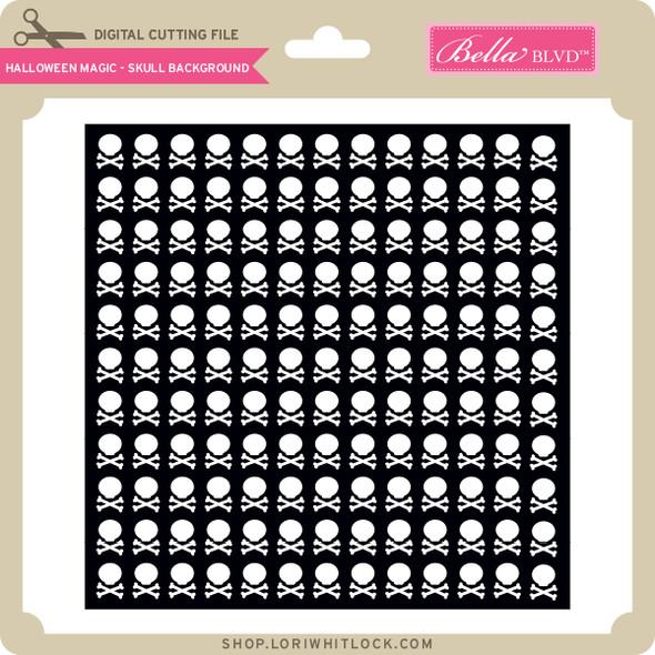 Halloween Magic - Skull Background