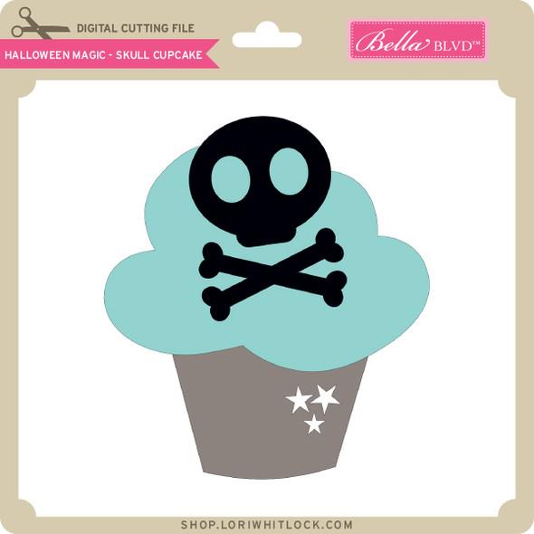 Halloween Magic - Skull Cupcake