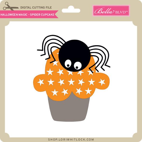 Halloween Magic - Spider Cupcake
