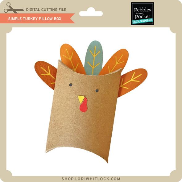 SImple Turkey Pillow Box