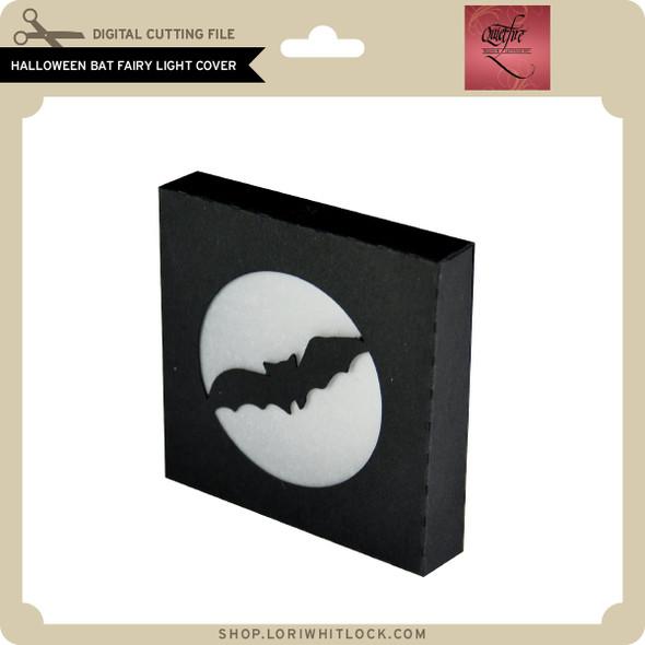 Halloween Bat Fairy Light Cover