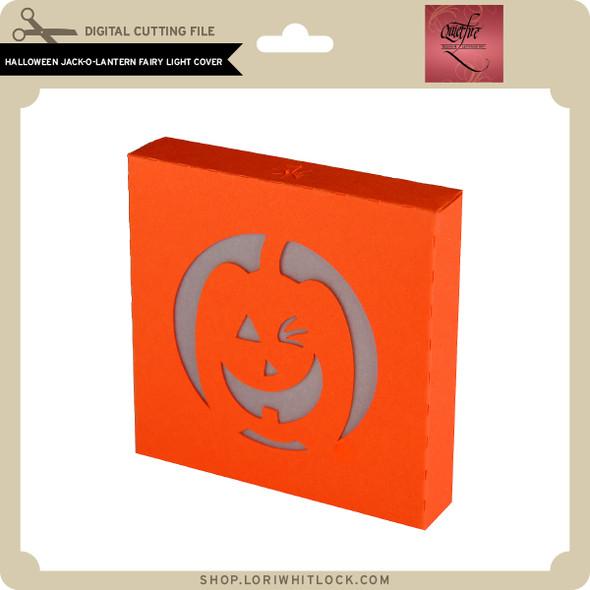 Halloween Jack O Lantern Fairy Light Cover