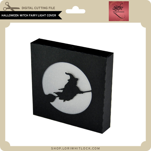 Halloween Witch Fairy Light Cover