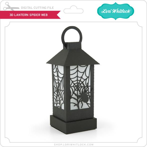 3D Lantern Spider Web