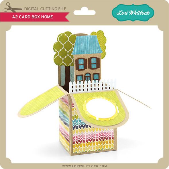 A2 Box Card Home