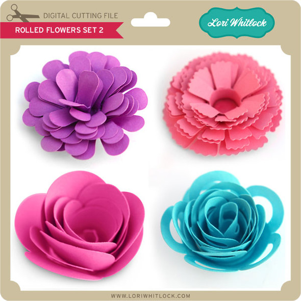 Rolled Flower Set 2