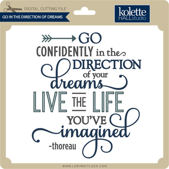 Go in the Direction of Dreams