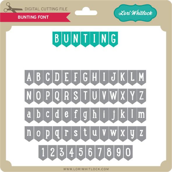 Bunting Font