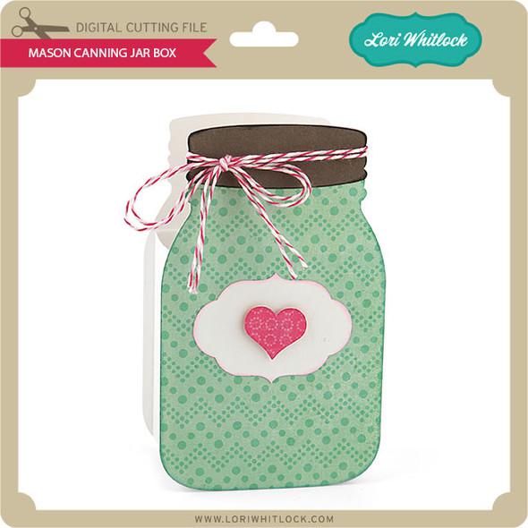 Mason Jar Canning Box