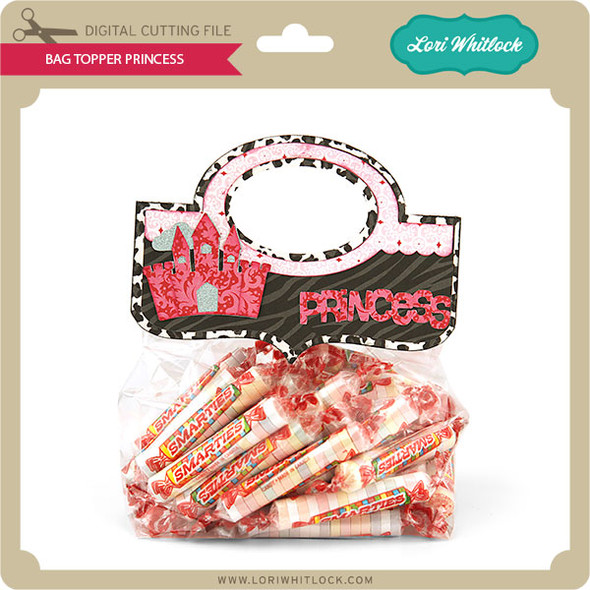 Bag Topper Princess