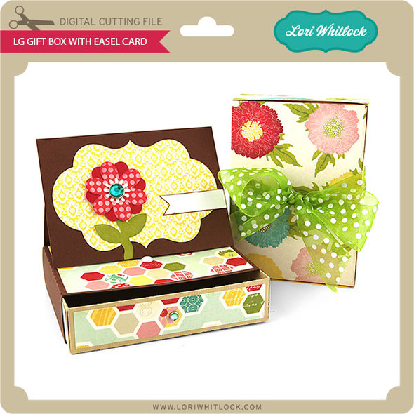 LG Gift Box with Easel Card