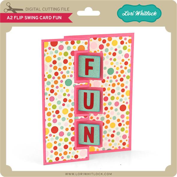 A2 Flip Swing Card Fun