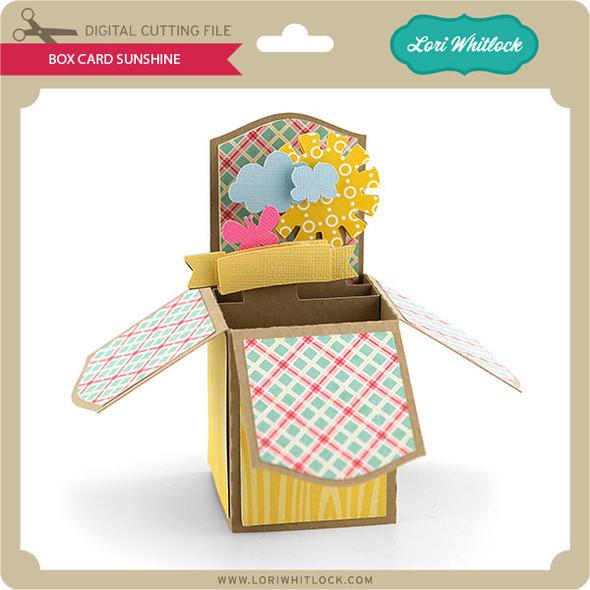 Box Card Sunshine