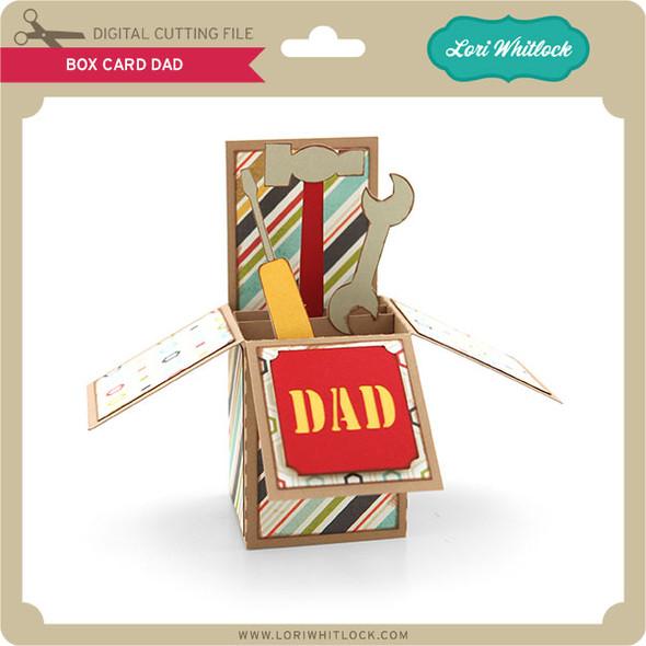 Box Card Dad