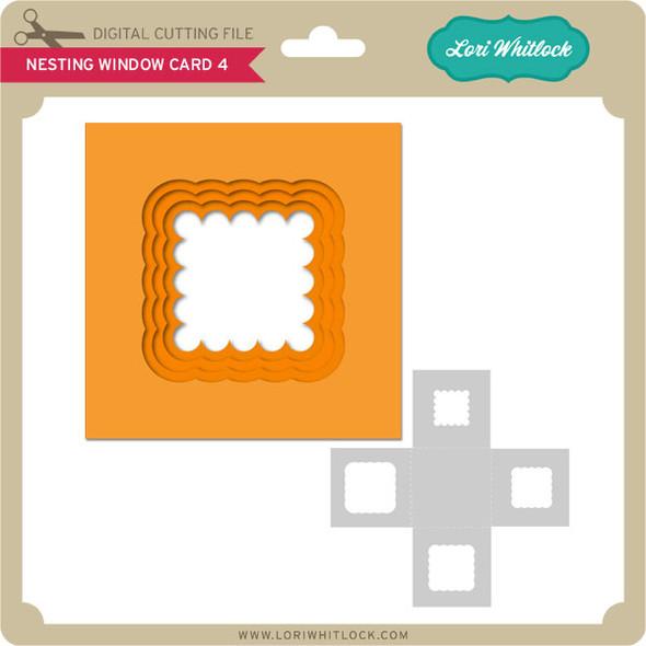 Nesting Window Card 4