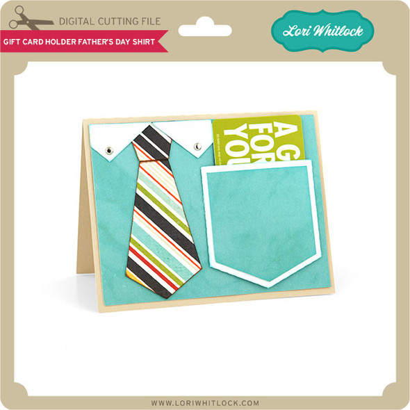 Gift Card Holder Father's Day Shirt