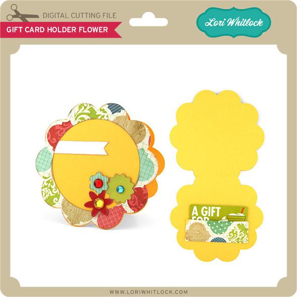 Gift Card Holder Flower