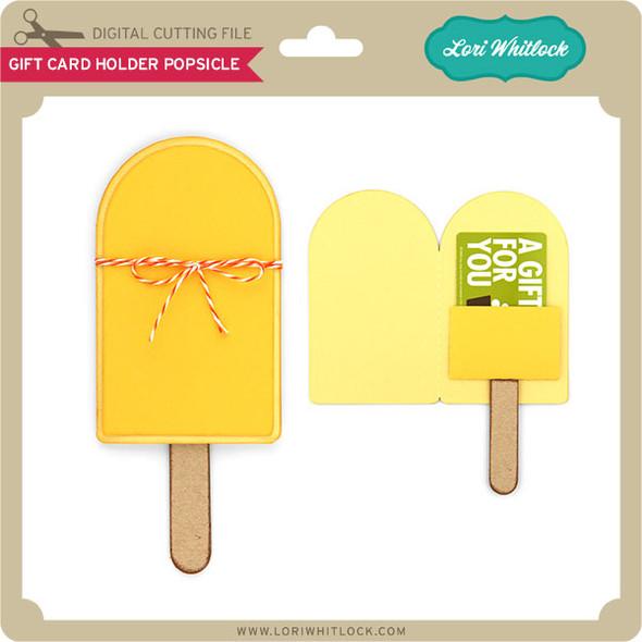 Gift Card Holder Popsicle