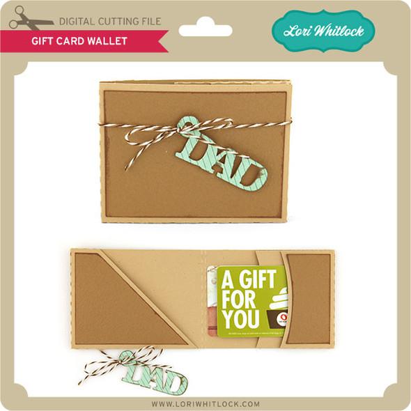 Gift Card Holder Wallet
