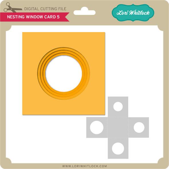 Nesting Window Card 5