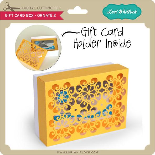Gift Card Box - Ornate 2