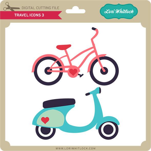 Travel Icons 3