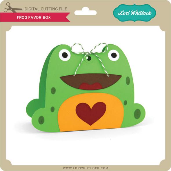 Frog Favor Box 2