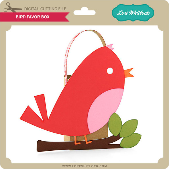 Bird Favor Box